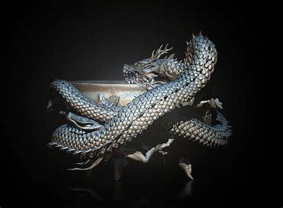 Dragon Japanese 3d Zbrush Behance Environment Project
