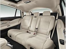 2014 BMW 5 Series GTrear seats