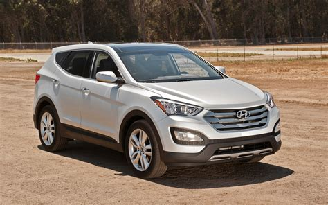 hyundai suvs images hyundai enjoys sales gains from best selling mid suv the