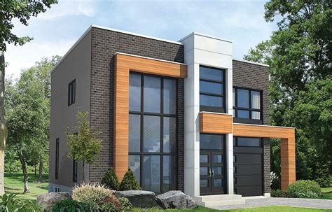 open concept modern house plan pm architectural
