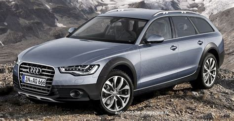 future audi  allroad terrain connu lautomobile magazine