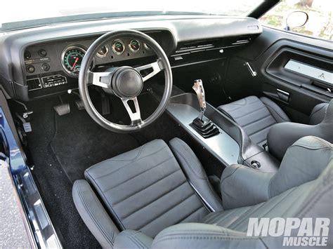 dodge challenger custom interior 1971 dodge challenger pro e rod network