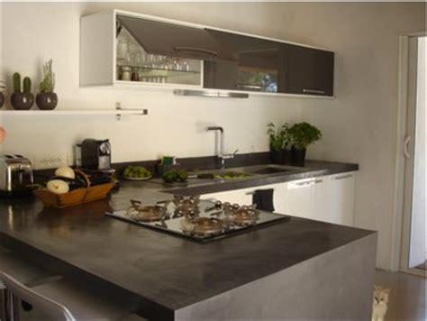 béton ciré plan de travail cuisine castorama faire un plan de travail en béton ciré dans la cuisine