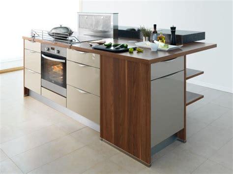 plaque de cuisson four hotte escamotable bar sur 233 lev 233 et rangement multiples 184 ilot cuisine