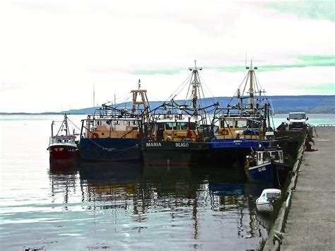 Boats For Sale Ireland Fishing Boat by Fishing Boats Photograph By