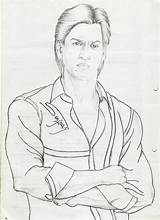 Shahrukh Coloring Drawing Ahmed Khan Sketch Drawings 900px 77kb 2nd Uploaded November Which sketch template