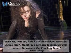 Bellatrix Lestrange Harry Potter Quote   Harry Potter ...