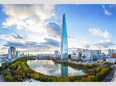 Seoul's Lotte World Tower Completes as World's 5th Tallest