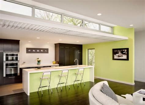 lemon green kitchen decorating with green 52 modern interiors to accentuate 3717