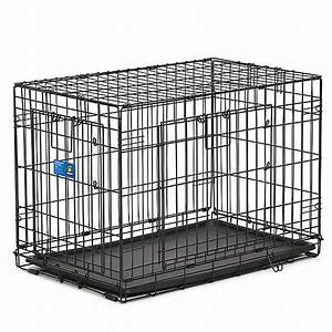 top pawr double door wire dog crate dog carriers With petsmart plastic dog crates