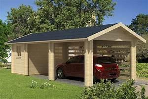 Carport Maße Für 2 Autos : carport garage abstellraum 70mm sams gartenhaus shop ~ Michelbontemps.com Haus und Dekorationen