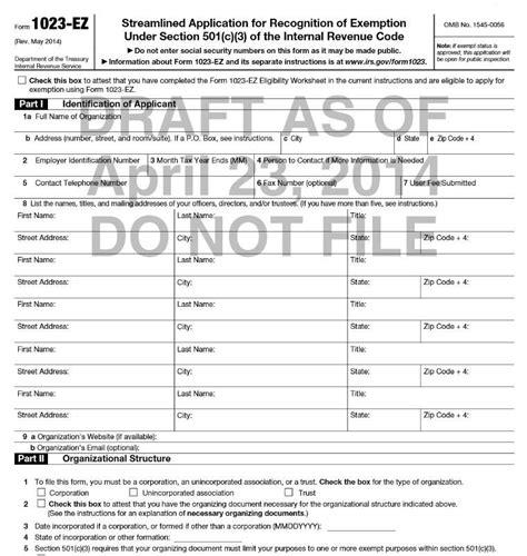 irs proposes form 1023 ez homeschoolcpa