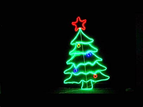 christmas led light show neon christmas lights doliquid
