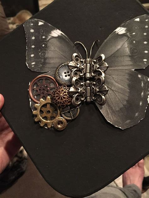 "Hometalk   First Attempt at a ""Steampunk"" Butterfly"