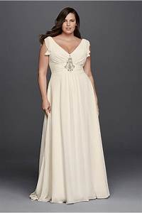 cap sleeve tulle sheath with lace applique david39s bridal With whimsical plus size wedding dresses