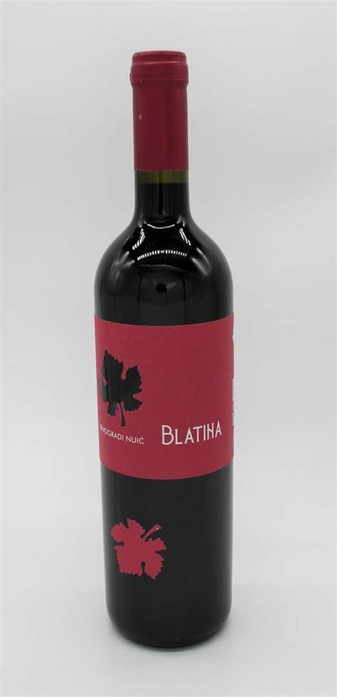 Blatina Vinogradi Nuic 075 L Weinimport Dalmacija