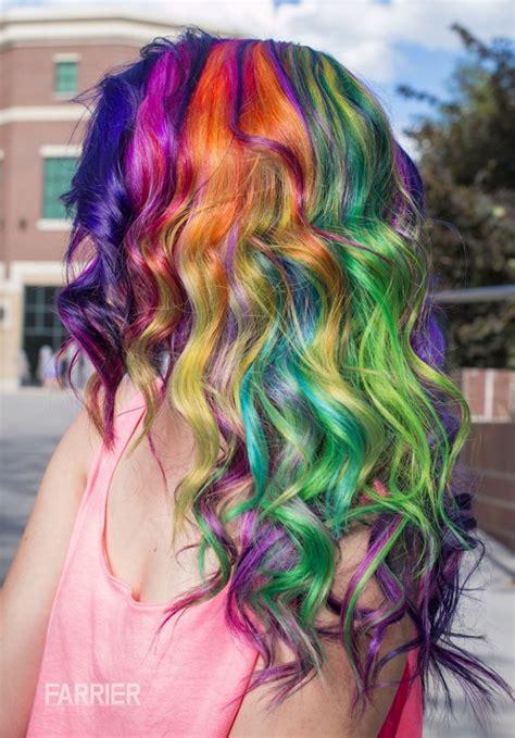 Hair In The Rainbow Hair Category