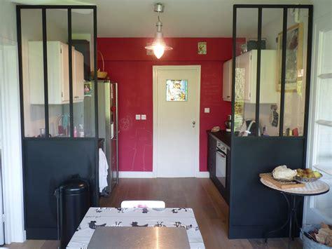 Cloison Vitree Cuisine Salon Cuisine Avec Cloison Industrielle Vitr 233 E Castorama Axioma