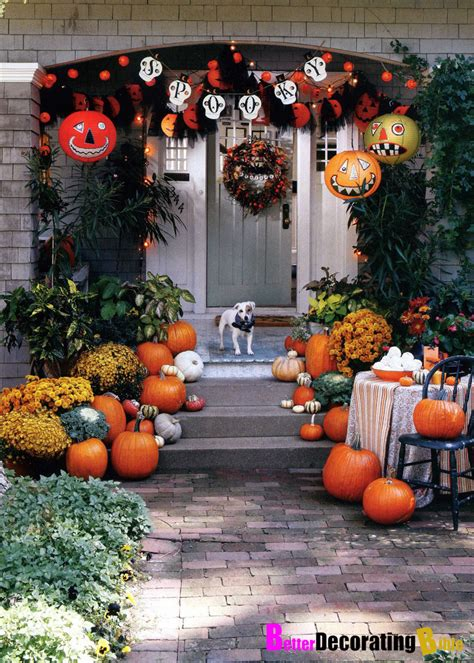 Pretty Autumn Porch Décor Ideas  Modern World Furnishing