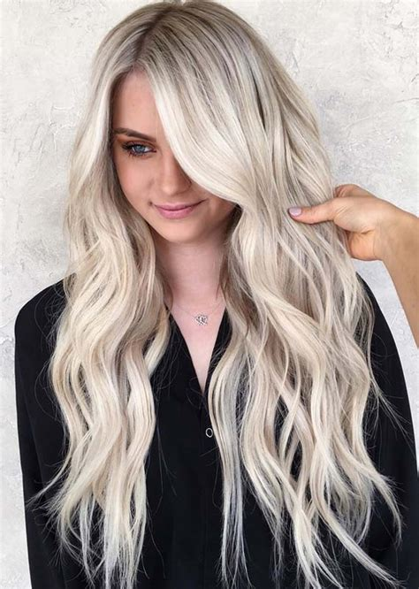 beautiful bright blonde hair color trends