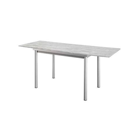 table de cuisine à rallonge table de cuisine en stratifié basic avec rallonges 4