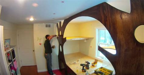 creative ideas diy transform kids bedroom   treehouse