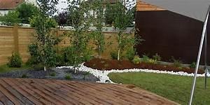 amenagement jardin suspendu malokoff ile de france With ordinary jardin paysager avec piscine 6 creation