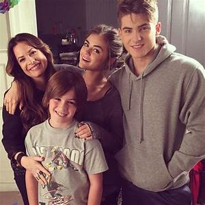 Holly Marie Comb, Her Son, Lucy Hale, & Cody Allen ...
