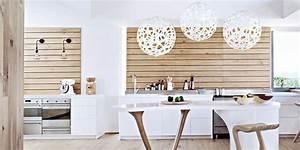 Deco Mur Cuisine : choisir son rev tement mural pour la cuisine nos conseils marie claire ~ Teatrodelosmanantiales.com Idées de Décoration