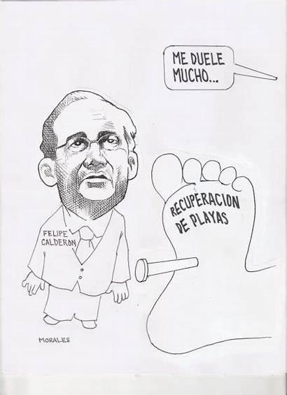 Caricatura Politica Calderon Felipe Morales Benjamin Mundo