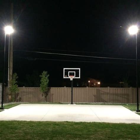 outdoor basketball court lighting 5776 home backyard basketball court lighting step by