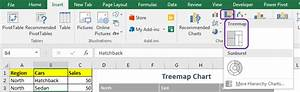 How To Use Treemap Chart In Excel 2016