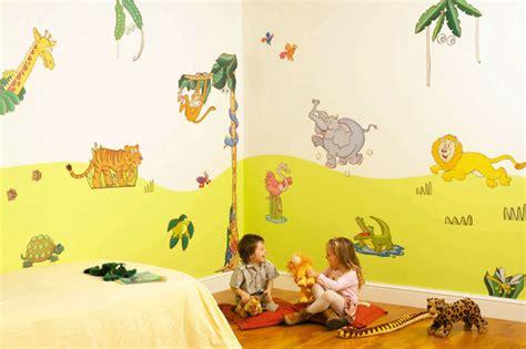 chambre bébé jungle déco chambre bébé animaux jungle