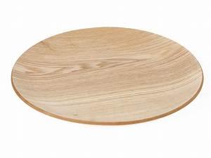 Rond En Bois : plateau rond en bois pour table les ustensiles de cuisine ~ Teatrodelosmanantiales.com Idées de Décoration