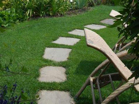 Gehwege Im Garten Mit Natursteine Verlegen Lagerhaus
