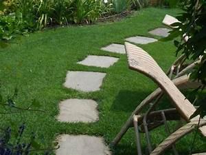 Naturstein Im Garten : gehwege im garten mit natursteine verlegen lagerhaus ~ A.2002-acura-tl-radio.info Haus und Dekorationen