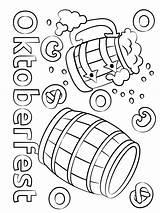 Oktoberfest Beer Coloring Barrels Printable Pages Print Game Barrel Categories Sheet Onlinecoloringpages sketch template