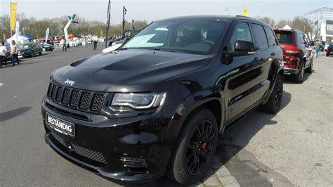 jeep new black jeep grand cherokee srt 6 4 v8 black colour