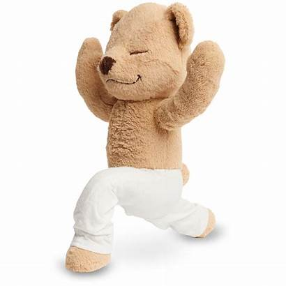 Teddy Meddy Yoga Pose Crescent Lunge Poses