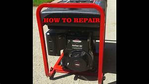 How To Diagnose  Fix And Repair A Generator That Will Not