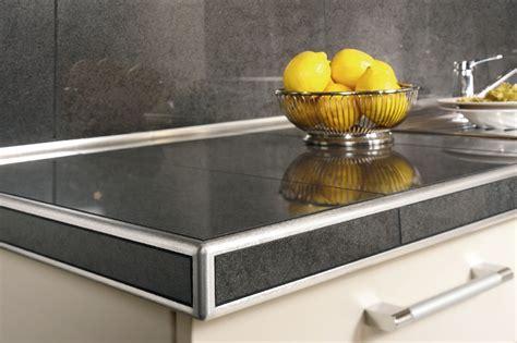 contoire de cuisine schluter rondec ct for countertops profiles