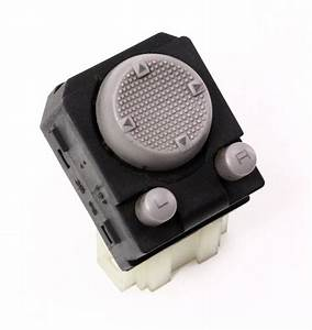 Power Mirror Adjuster Switch Button 93-99 Vw Jetta Golf Cabrio Mk3