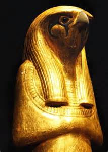 Egyptian Falcon God Horus
