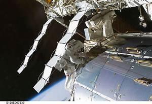 Ammonia leak on the International Space Station | Luca ...