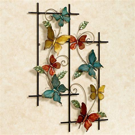 butterfly metal wall