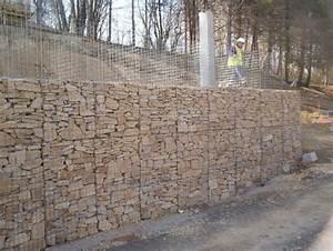 Mur De Soutenement En Gabion : murs de sout nement solutions v g tales et naturelles ~ Melissatoandfro.com Idées de Décoration