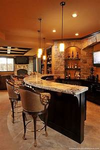 52 splendid home bar ideas to match your entertaining With basement bar design ideas pictures
