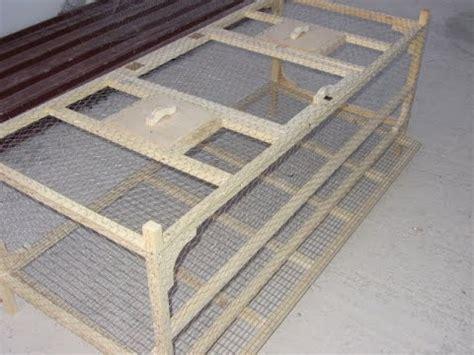 Gabbia Per Quaglie Ovaiole Gabbia Per Quaglie Ovaiole Fai Da Te Part 2 Cages For