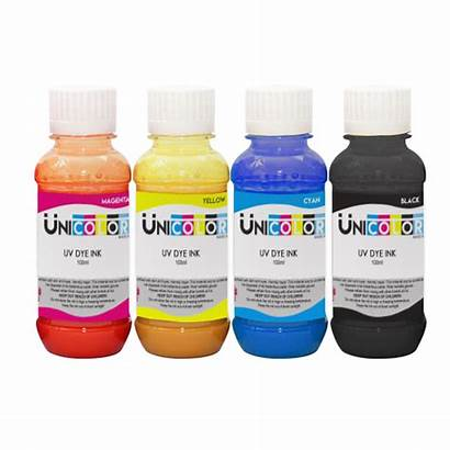 Ink Dye Uv 100ml Unicolor Printing Uniprint