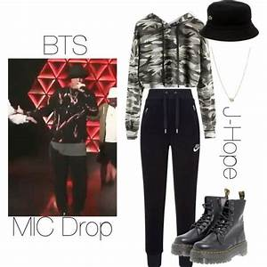 BTS J-Hope MIC Drop inspired outfit | Kpop | Pinterest | Inspired outfits Lacoste and Polyvore ...